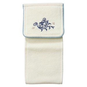 Holder Cover White Blue Washable Paper Cover Toilet Fabric