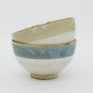 Circle Pottery - RICE BOWL [Bread & Rice / Mino Ware]