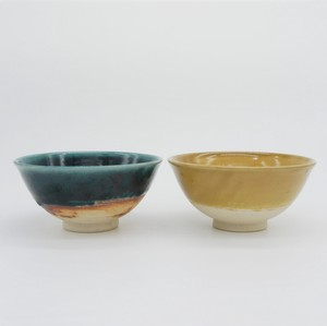 Glossy Pottery  - RICE BOWL [Bread & Rice / Mino Ware]