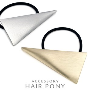 Metal Triangle Hair Elastic Easy Women
