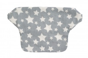 Baby Career Print Cover Gray Star