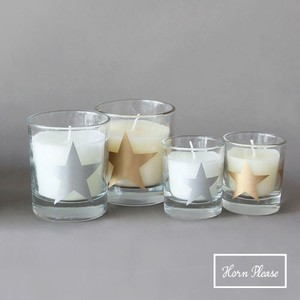A/W GLASS Candle Line Star