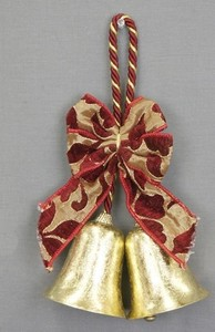 Metal Twin Objects and Ornaments Ornament Clothes Hanger Gold