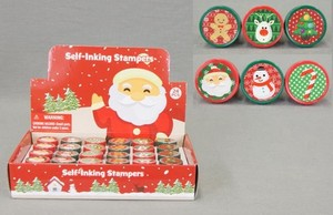Christmas Round Stamp Assort