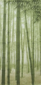 Japanese Noren Curtain Bamboo Forest Long