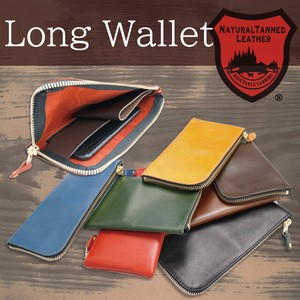 Tochigi Leather Series Long Wallet Smartphone Case Coin Case Cow Leather