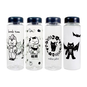cat Cat Clear Bottle 4 Types Water Flask Canister Youth Bottle