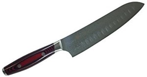 YAXELL Dimple Santoku Bocho (Japanese Kitchen Knives)