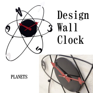 Design Wall Clock Planet