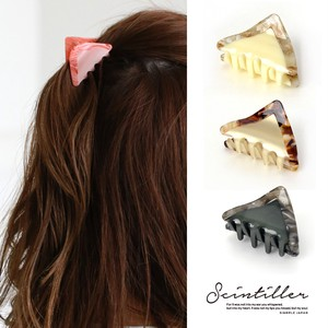 Tortoiseshell Triangle Clip Hair Clip Set