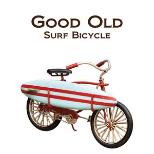 Surf Bicycle Object American Marine Ornament