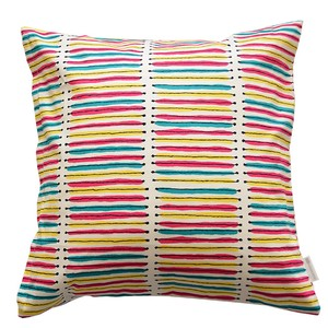 Cushion Cover Stripe Colorful