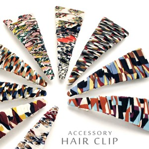 Geometric Triangle Barrette Easy