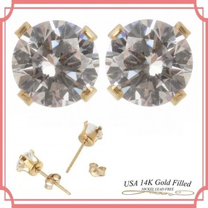 US Cubic Zirconia Pierced Earring