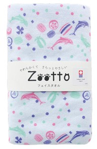 IMABARI TOWEL Candy Gauze Face Towel Animal Zoo
