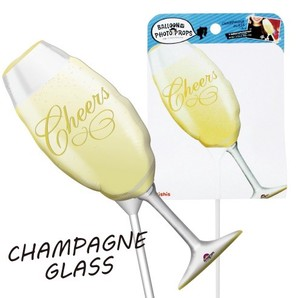 Champagne Glass Balloon