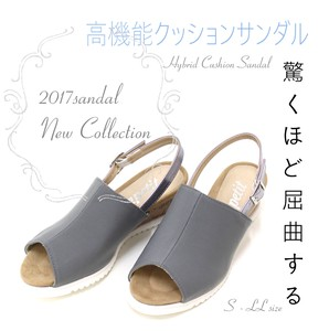 Stretch Material Specification Effect Mule Sandal