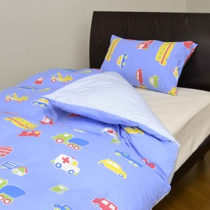 Car Pattern Bedspread Cover Mattress Cover Pillow Case