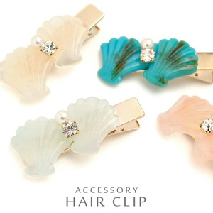 Pastel Color Shell Hair Clip Gloss Feeling