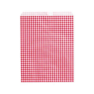 Flat Bag Gift Bag Bag Checkered NO.8
