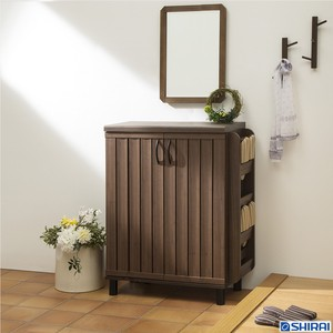Shoes Rack Shoebox Dark Brown