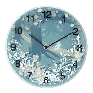 【ムーミン・北欧】Wall clock Moomin in the Forest