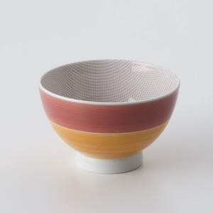 Color Pattern Rice Bowl