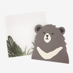 【アニマルレター】03 Asiatic black bear
