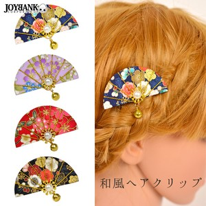 Attached Japanese Pattern Hair Clip