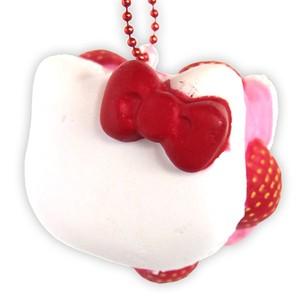Special Deals!【SQUISHY】Hello Kitty Macaron/Ball Chain Mascot