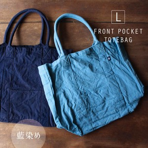 Dyeing Front Pocket Tote