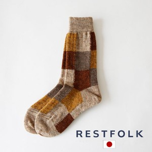 A/W Socks Socks Patchwork Men's Japan