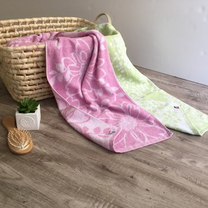 Bathing Towel Bathing Towel Imabari Gift Scandinavia Rose rose Leaf IMABARI TOWEL