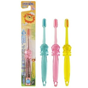 Crystal Animals tooth brush LION Flat Cut Standard