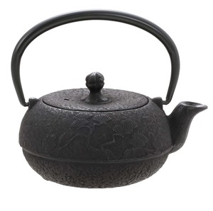 Nambu Tekki Japanese Tea Pot Circle Shape
