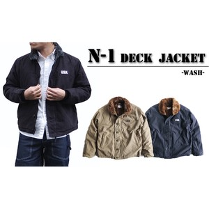 Deck Jacket Second Hand Processing 3 Colors