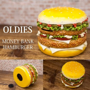 Bank Hamburger Piggy Bank