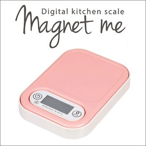 PEARL METAL Tommy Digital Kitchen Scale Pink