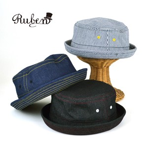 Ruben Denim Pork Pie Hat Young Hats & Cap
