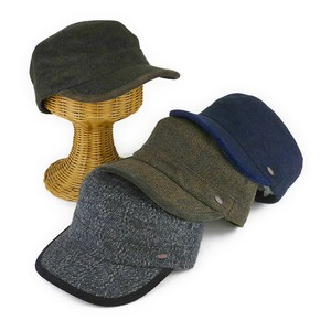 Ruben pin Tweed Military Cap Young Hats & Cap