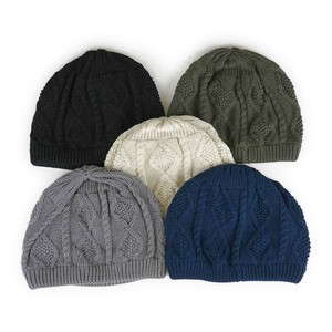 Ruben Cable Cotton Knitted Young Hats & Cap