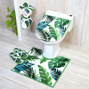 Botanical illustration Toilet / Kitchen /Bath Mat