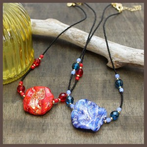 Italy Venetian Glass Milky Way Necklace