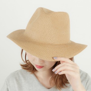 Ladies Men's Paper Long Brim Hat
