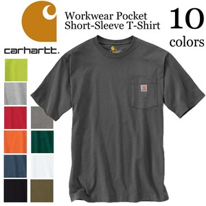 《即納》CARHARTT《定番》■メンズ Tシャツ■Workwear Pocket Short-Sleeve T-Shirt