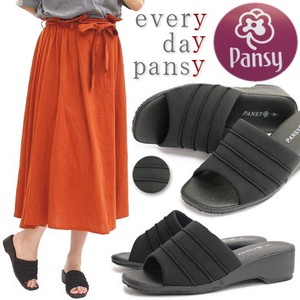 Pansy Sandal Office Stretch Wedge Sole