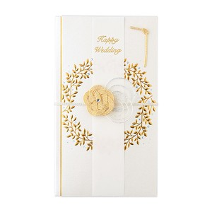 Gift Money Envelope Gift Money Envelope Wreath White
