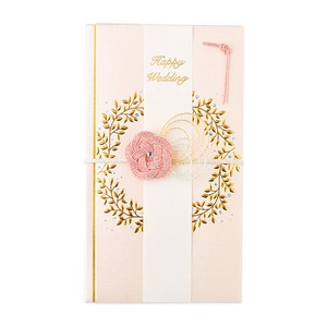 Gift Money Envelope Gift Money Envelope Wreath Pink