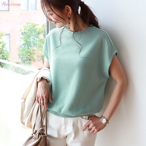 T-shirt Ladies Short Sleeve French Cut And Sewn Plain