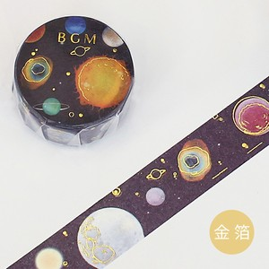 Gold Leaf Washi Tape Gold Planet Washi Tape